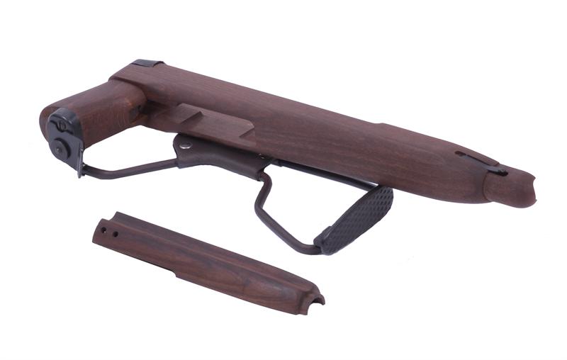 Stock and Handguard Set, Folding Paratrooper, Wood, New